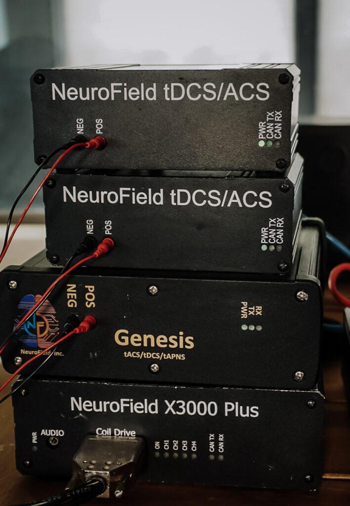 NeuroField equipment