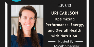 013 – Uri Carlson – Optimizing Performance, Energy, and Overall Health with Nutrition